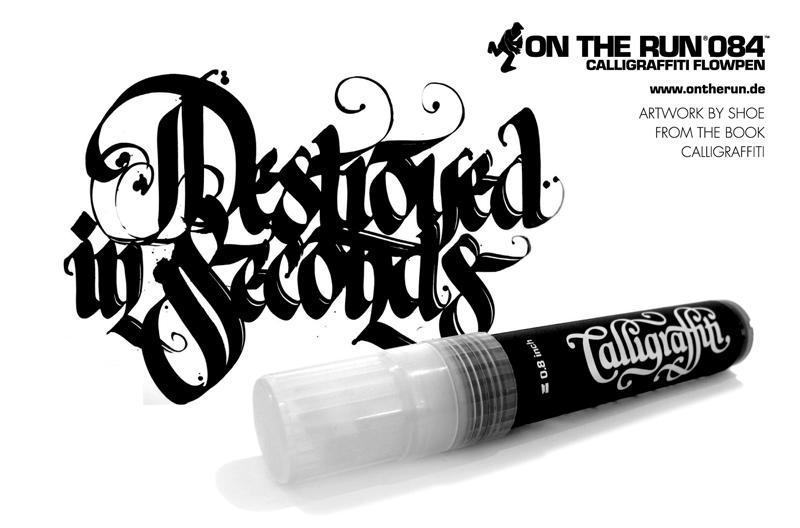 Calligraffiti Marker